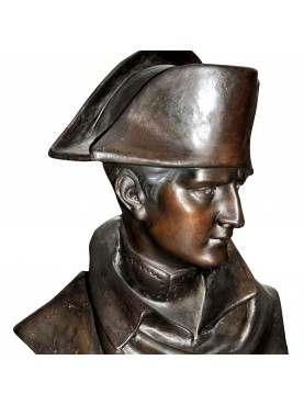 Napoleone Bonaparte chalck bust