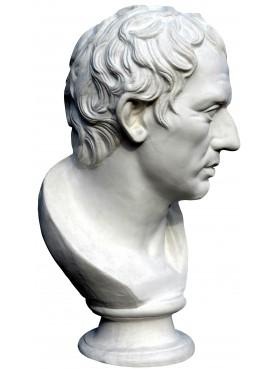 Plinio - copia di statua romana - gesso