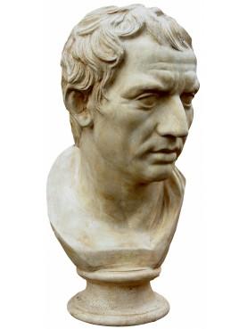 Plinio - copia di statua romana - gesso patinato
