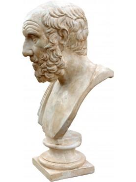 Platone in gesso patinato