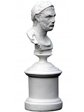 Annibale busto piccolo in gesso