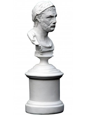 Hannibal, small plaster cast bust