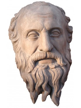 Terracotta Diogenes head