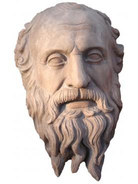 Diogene terracotta Head - philosopher
