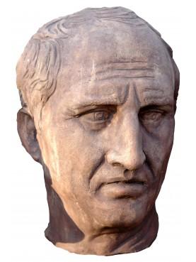 Marco Tullio Cicerone testa in terracotta