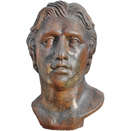 Alexander the great terracotta head