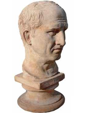 Marco Tullio Cicerone terracotta head