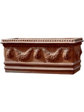 Cassonetti Festonati in terracotta grande