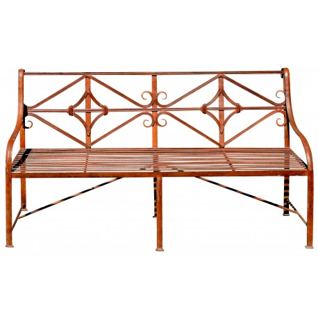 Garden Bench - Settee iron bench with and without weels