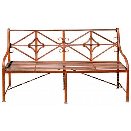 Panchina / Divanetto 160 cm in ferro battuto con e senza ruote