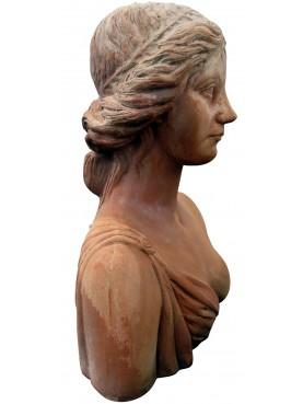 Busto di giovane donna fiorentina del rinascimento