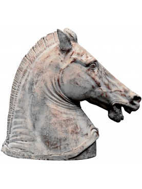 Cavallo Romano in terracotta