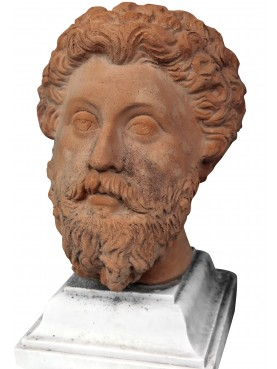 Marco Aurelio terracotta head