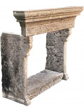 Camino in pietra di origine Sarda