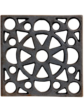 Cast-iron Grid from STIBBERT Museum in Florence