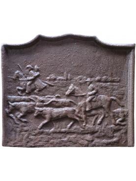 castiron Fireback buffalo horses camargue