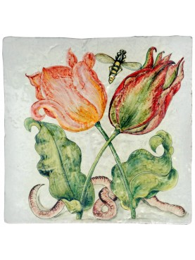 Majolica Panel with one tile