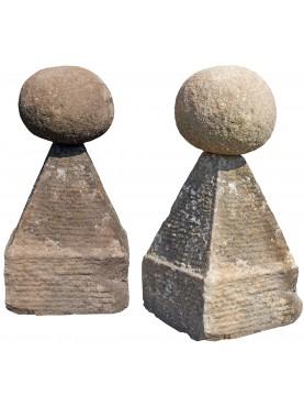 Le Piramidi di San Leonardo in Treponzio Ø25cm nostra repro arenaria