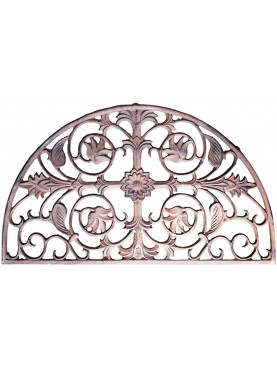 Cast iron fan window
