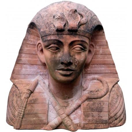 Terracotta Tutankhamon bust large size