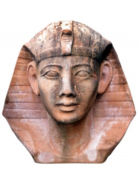 Busto di Tutankhamon in terracotta piccolo
