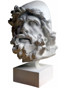 Ulisses head - plaster cast