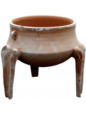 Tripode in terracotta