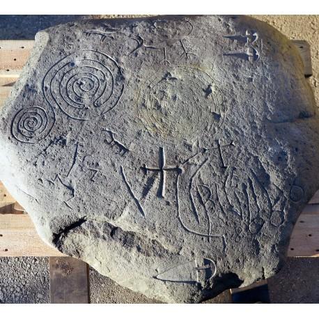 petroglyph our production sculpture