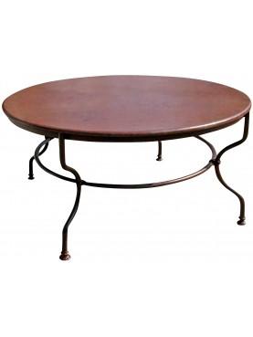 Tavolo in ferro Ø130cm
