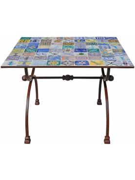 Table 72 moroccan tiles