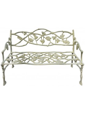 castiron Vineyards bench repro of an ancient model