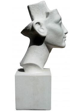 Testa di Nefertiti IN GESSO