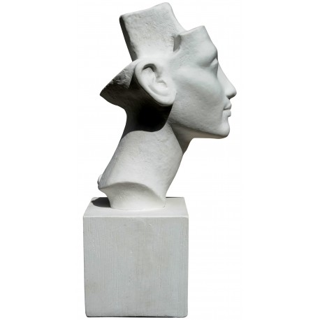 Nefertiti Head PLASTER CAST
