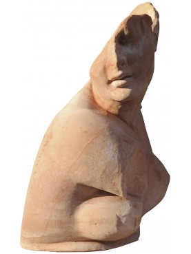 Bust of Crouching Aphrodite - terracotta