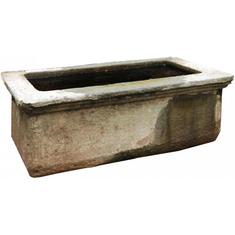 Vasche da giardino la mini piscina una volta riempita non - Vasche in pietra da giardino ...