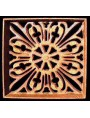19x19cms Cast iron grille for ventilation