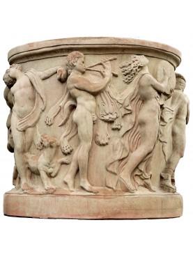 Pozzo in terracotta romanico