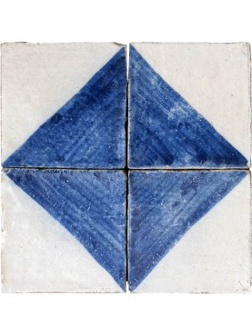 Majolica tile blue and white azulejos