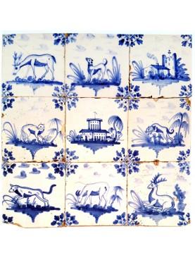 Delft Hannoversch majolica tiles