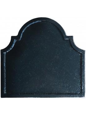 Terracotta fireback L 46.5 cm