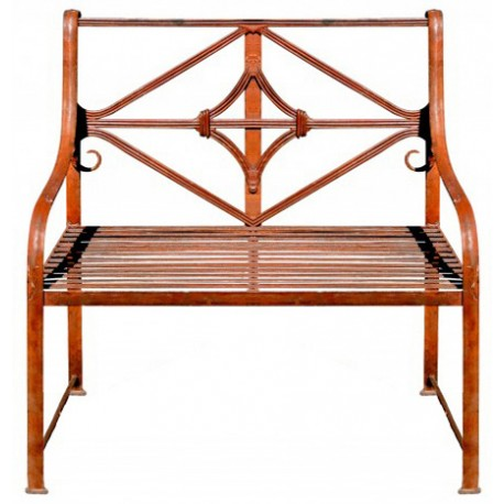 Bench - Divan in forged iron