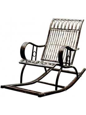 Forged iron Rocking chair
