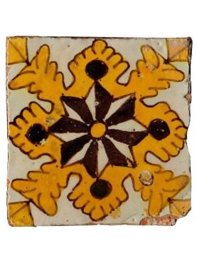 Originale Piastrella maiolicata