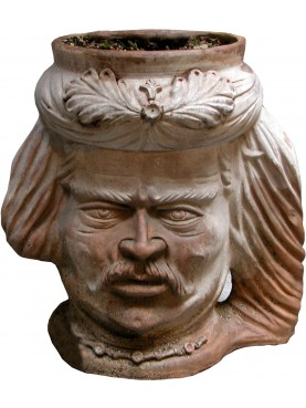 Grande cachepot in terracotta