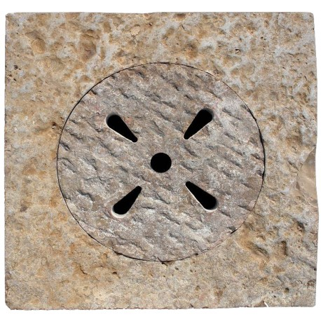 60x60cms Italian traditional ancient stone manhole