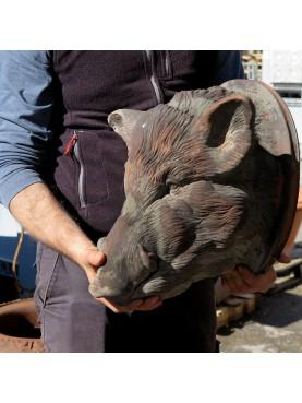 Wild boar trophy