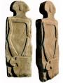 Lunigiana statue menhir our reproduction