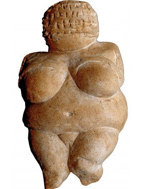 Our repro of the Willendorf venus