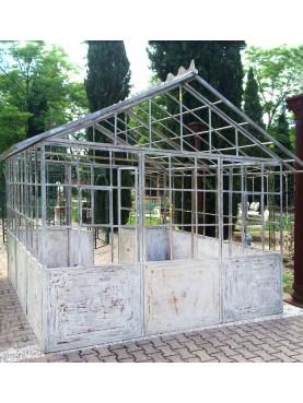 Serra da giardino in ferro