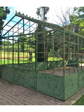 Wrought iron Greenhouse